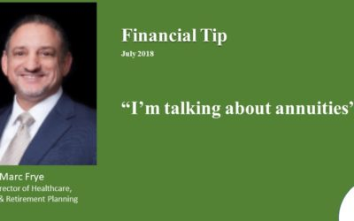 Talking about Annuities