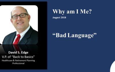 Bad Language 2018