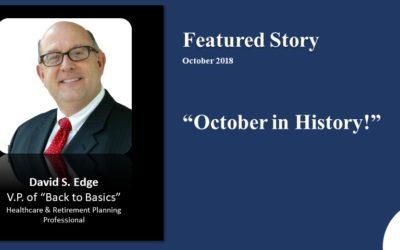 October in History 2018