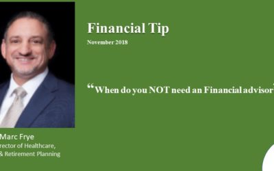 Financial Tip Nov 2018