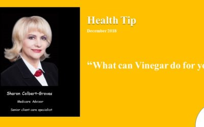 What can Vinegar do for you – 2018
