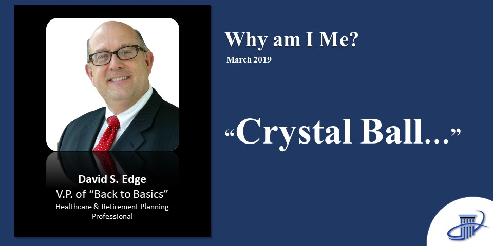Why am I me? Crystal Ball 2019
