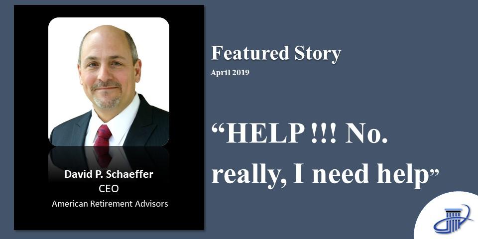 HELP!!! No, really, I need help-April 2019