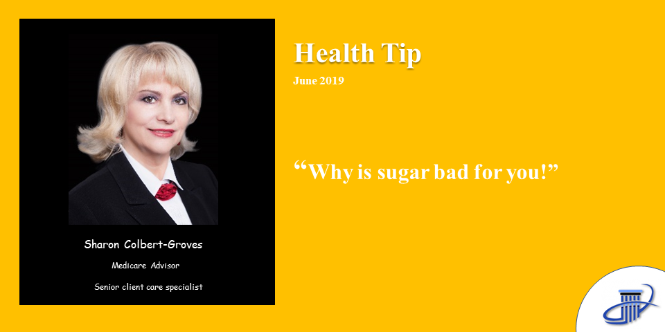 Why is sugar bad for you? June 2019