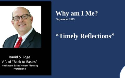 Timely Reflections 2019